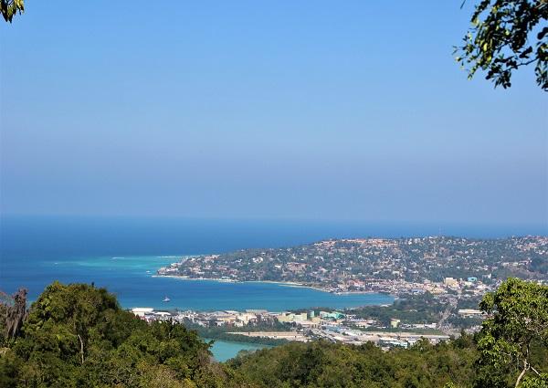 View from Rocklands Bird Sanctuary Jamaica