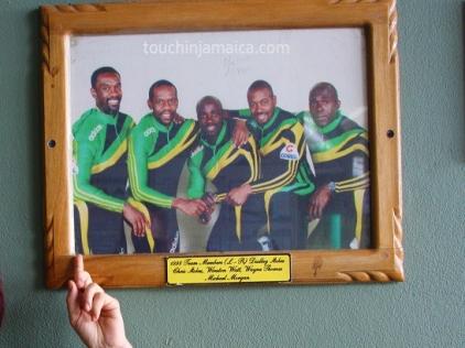 Jamaikanische Bobmannschaft Calgary 1988