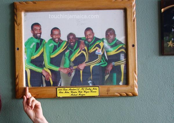Jamaikanische Bobmannschaft