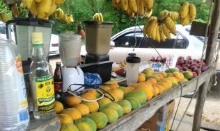 Strassenstand Jamaika