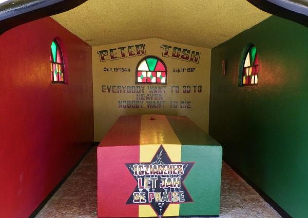Peter Tosh Mausoleum Belmont Jamaika