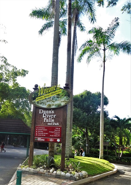 Welcome to Dunn's River Falls Jamaika