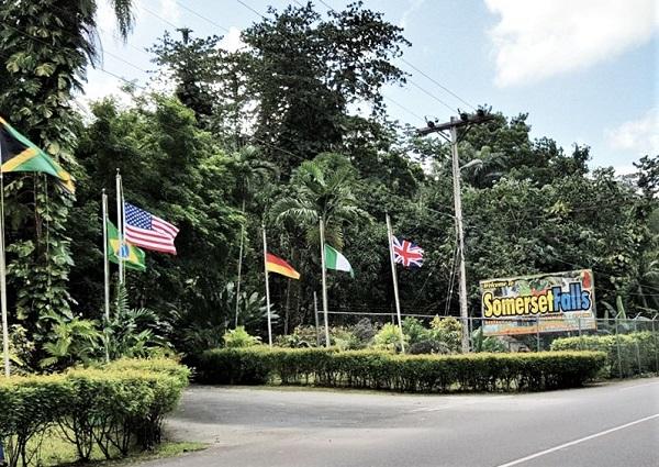 Wasserfall Port Antonio Jamaika