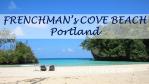Frenchman's Cove- Postkartenstrand in Portland/Jamaika