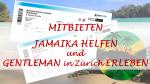 Auktion zugunsten Help Jamaica - 2 Konzerttickets für Gentleman in Zürich 17.11.2018